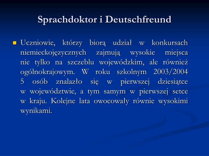 Sprachdoktor i Deutschfreund
