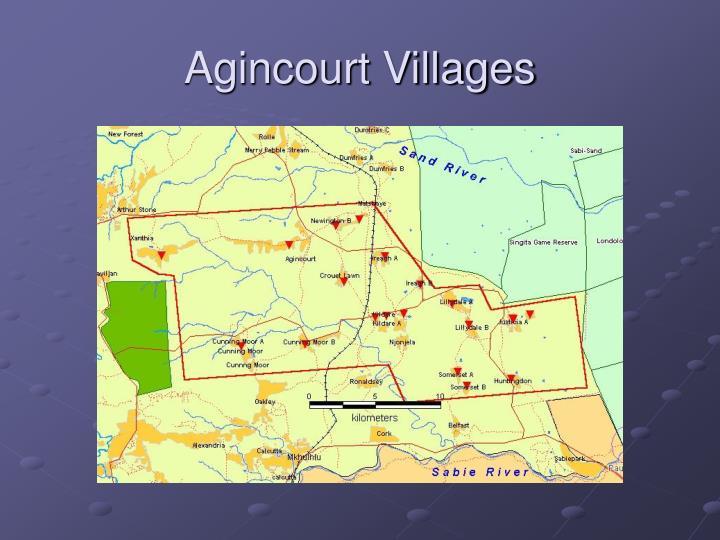 Agincourt Villages