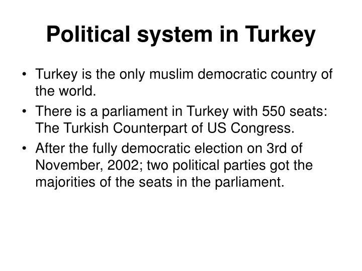 Political system in Turkey