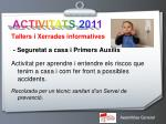 activitats 20113