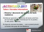 activitats 20114
