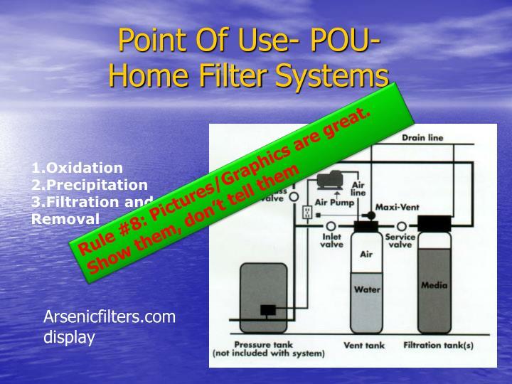 Point Of Use- POU-