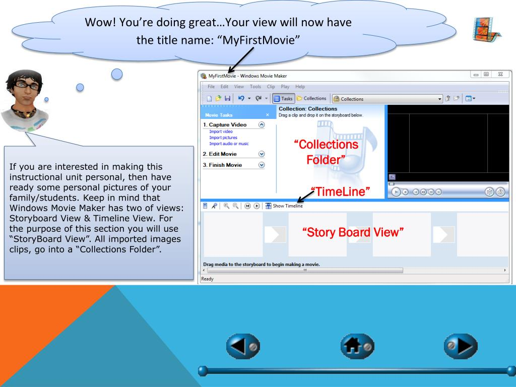 PPT - Windows movie maker PowerPoint Presentation - ID:4906023