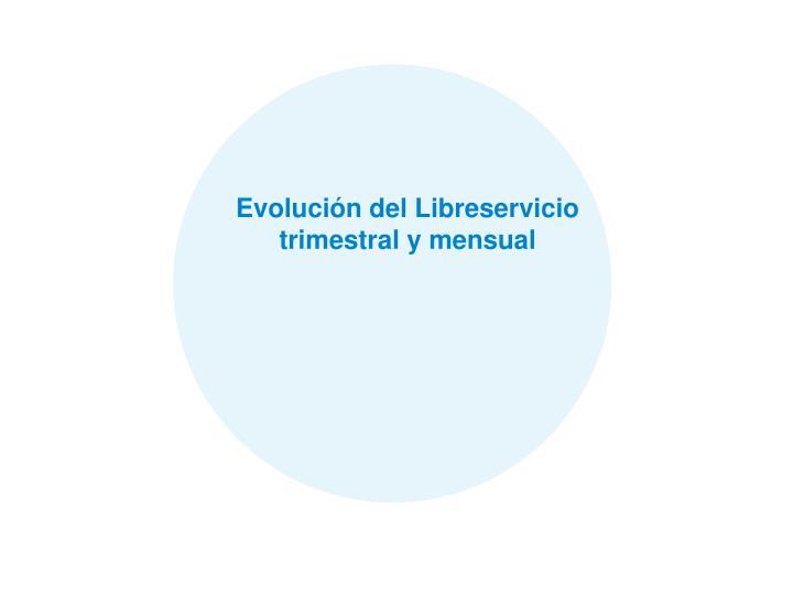 Evolución del Libreservicio