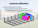 cameras calibration