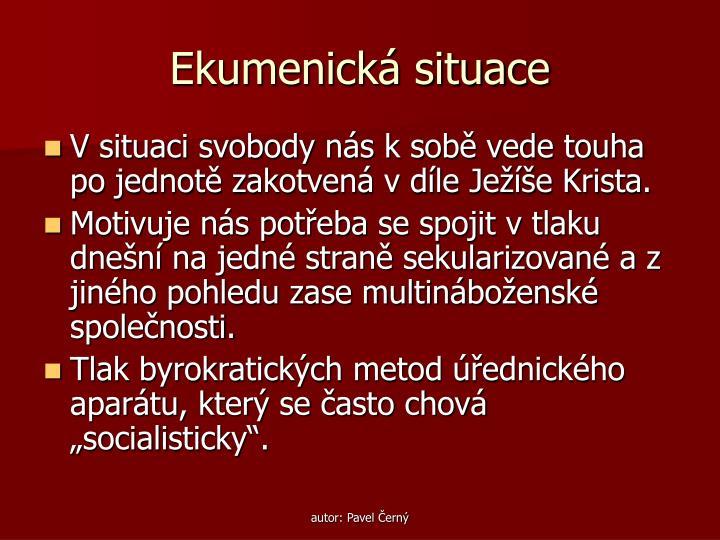 Ekumenick situace1