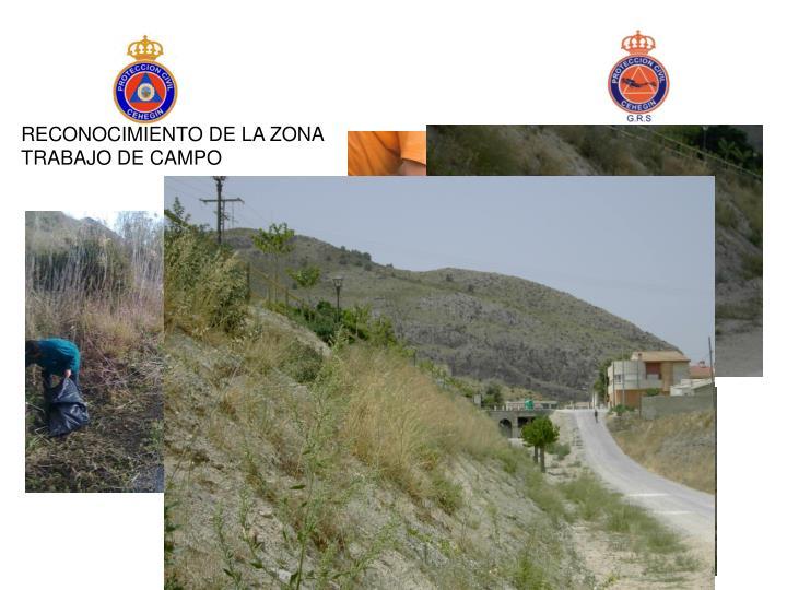 RECONOCIMIENTO DE LA ZONA