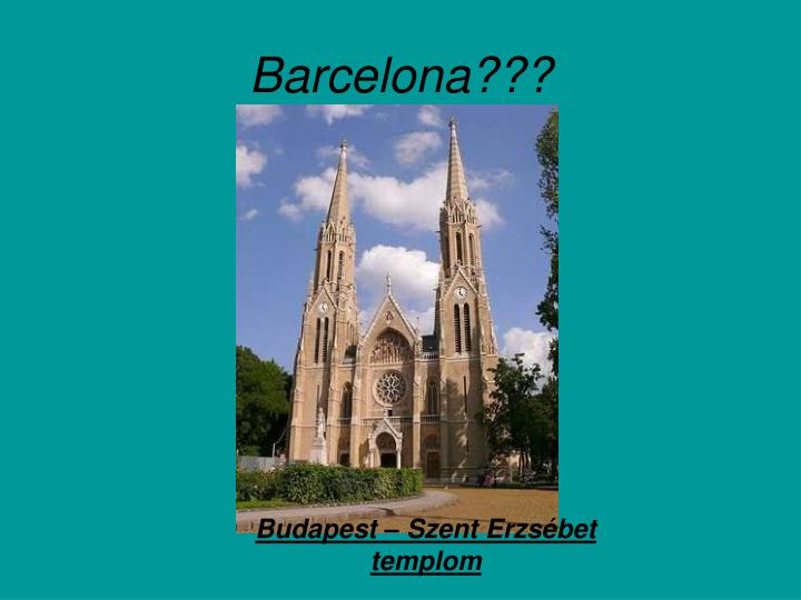 Barcelona???
