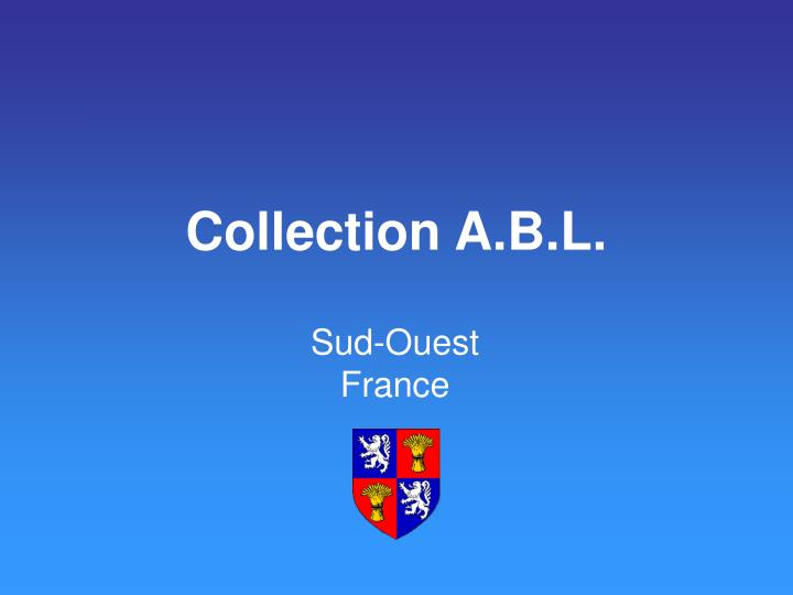 collection a b l n.