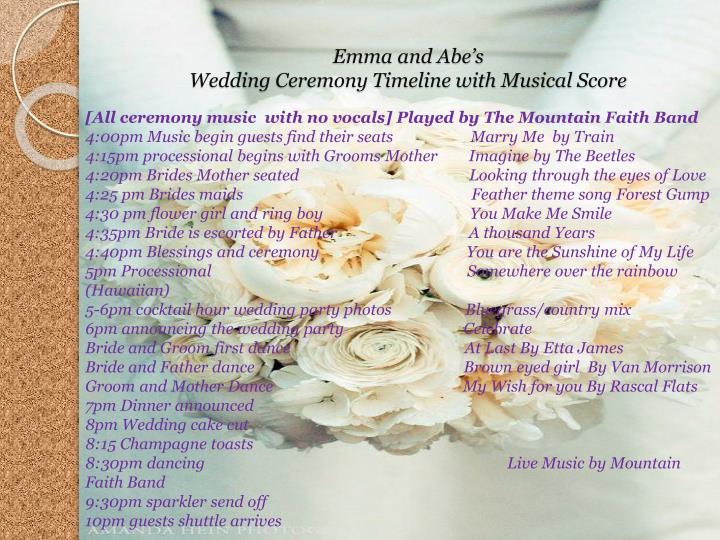 Emma and Abe's