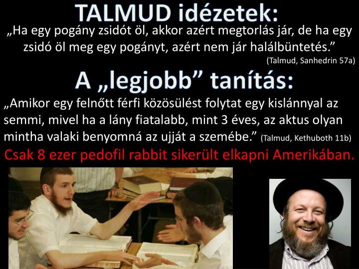 TALMUD idézetek: