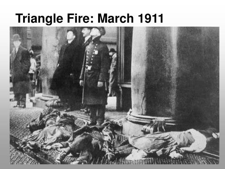 Triangle Fire: March 1911