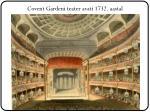 covent garden i teater avati 1732 aastal