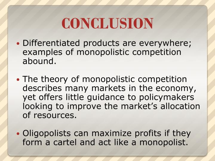 Ppt Monopolistic Competition And Oliogopoly Powerpoint