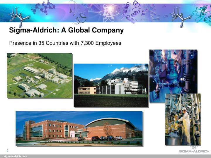 Sigma-Aldrich: A Global Company