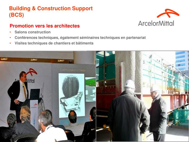 Building & Construction Support