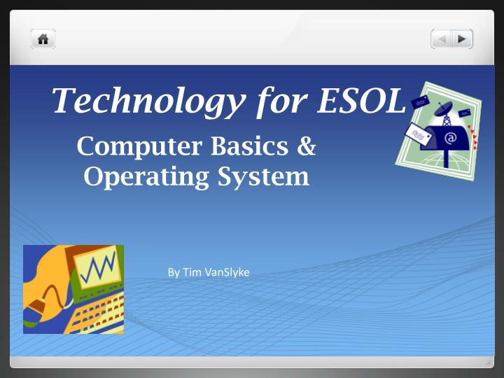 technology for esol n.
