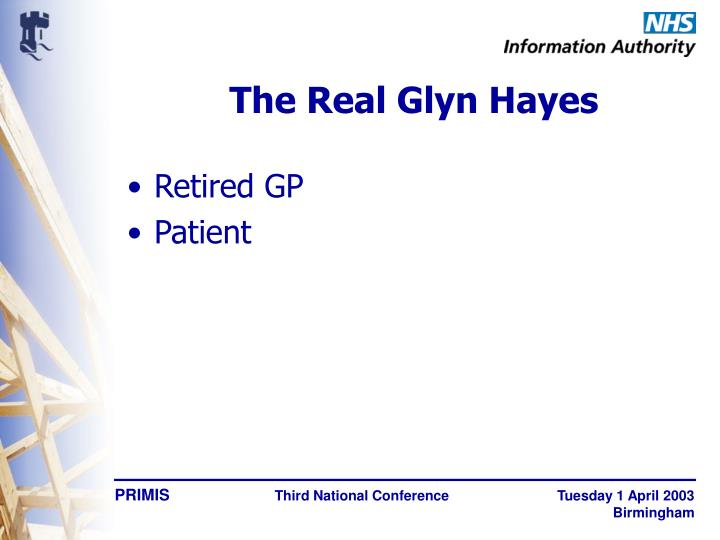 The real glyn hayes