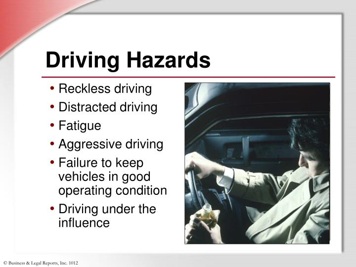 Driving Hazards