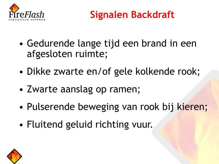 Signalen Backdraft