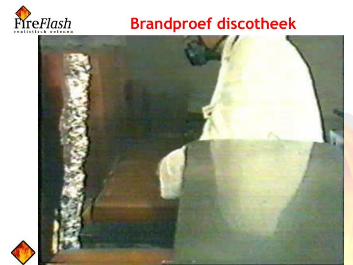 Brandproef discotheek