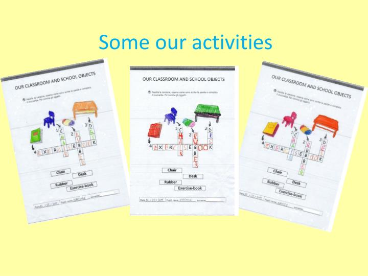 Some our activities