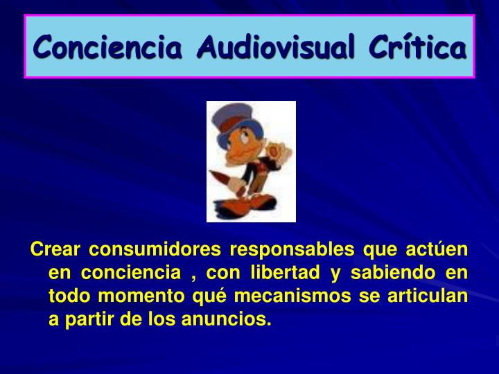Conciencia Audiovisual Crítica