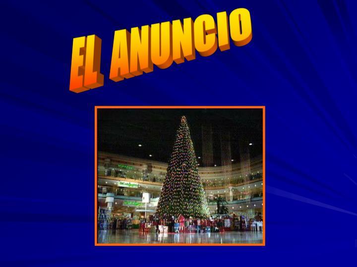 EL  ANUNCIO