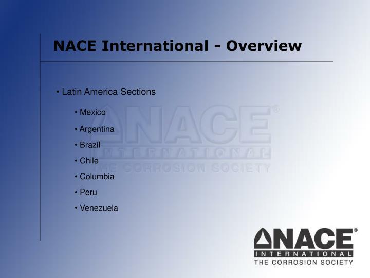 NACE International - Overview