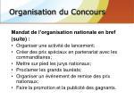 organisation du concours7