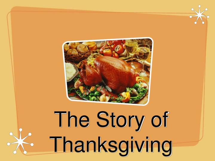 the story of thanksgiving n.