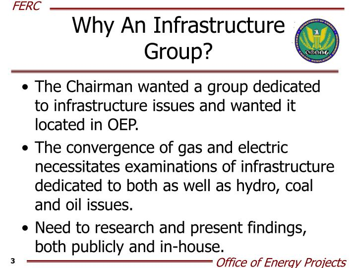 Why An Infrastructure