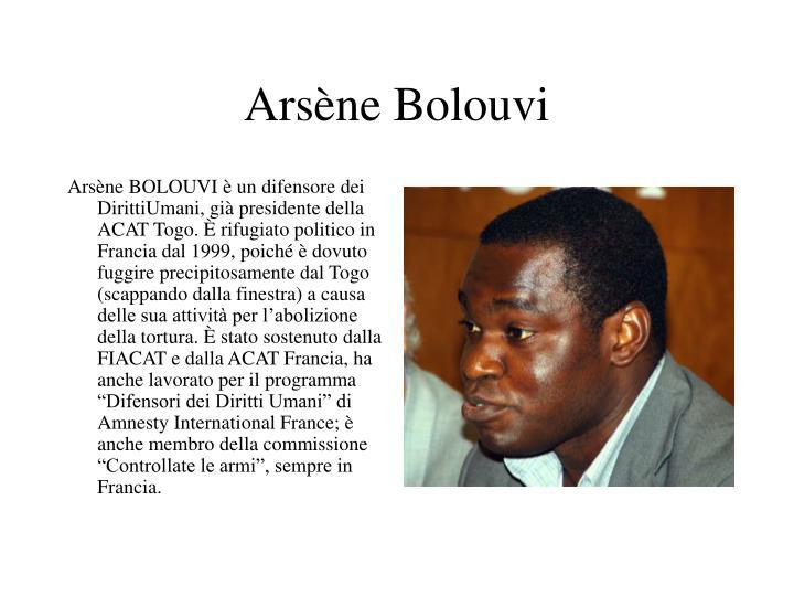 Arsène Bolouvi