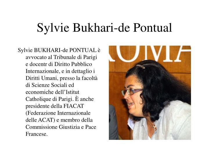 Sylvie Bukhari-de Pontual