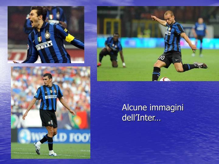Alcune immagini dell'Inter…