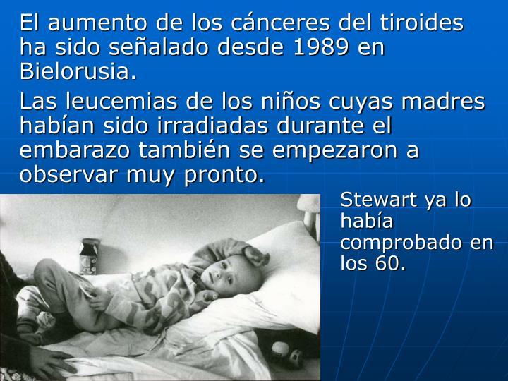 Stewart ya lo había comprobado en los 60.
