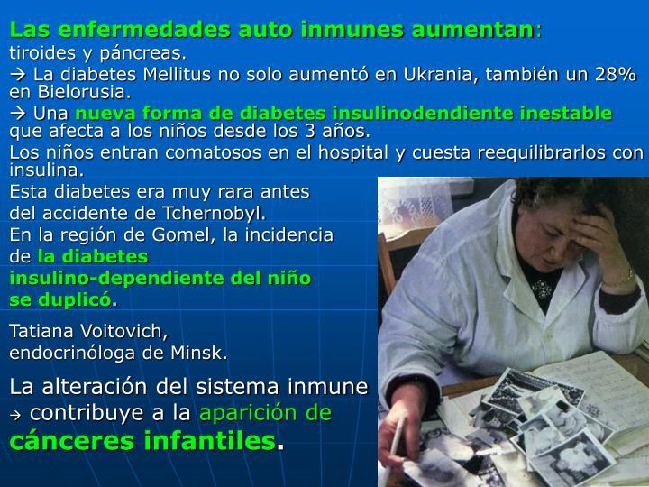 Las enfermedades auto inmunes aumentan