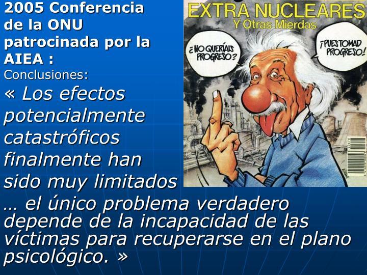 2005 Conferencia