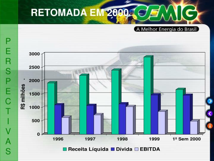 RETOMADA EM 2000