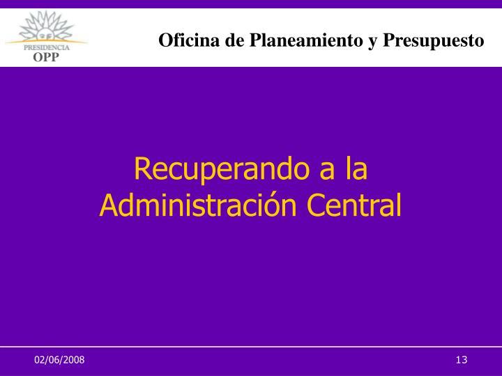 Oficina de Planeamiento y Presupuesto