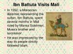 ibn battuta visits mali