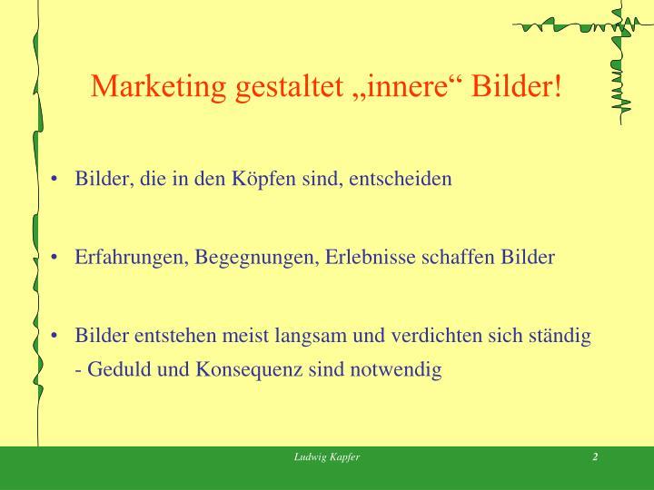 Marketing gestaltet innere bilder