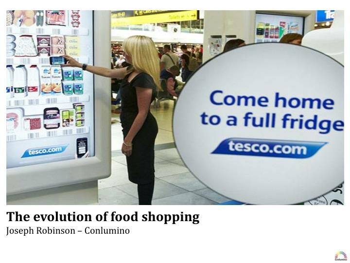 The evolution of food shopping