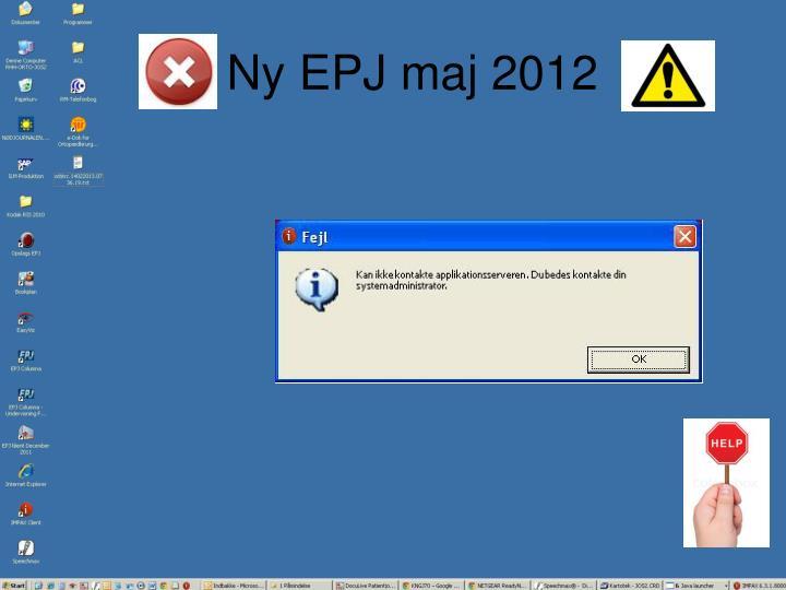Ny EPJ maj 2012