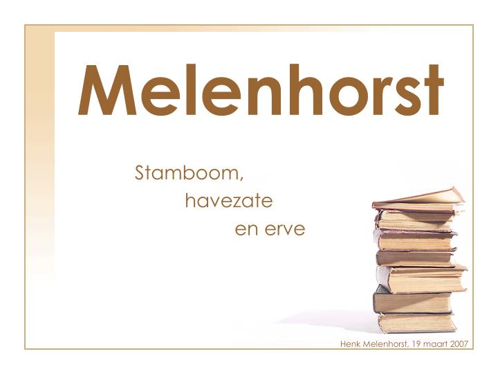 Melenhorst