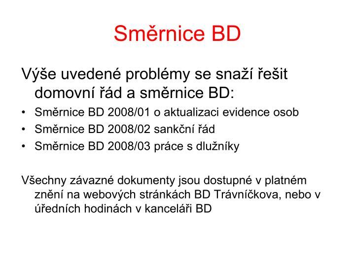 Směrnice BD
