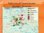 diffusione del monachesimo durante l xi secolo