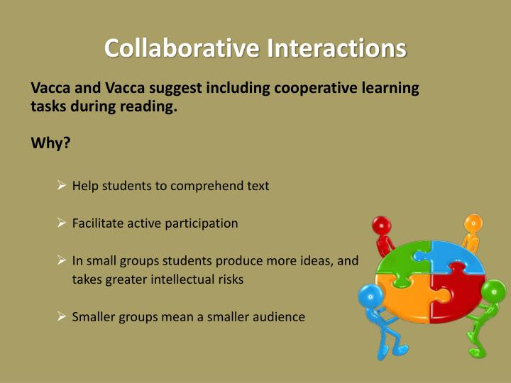 Collaborative Interactions