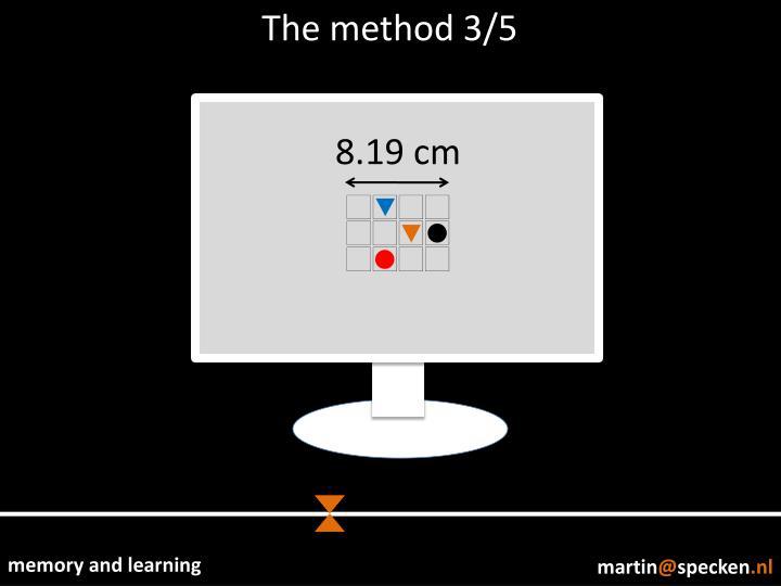 The method 3/5