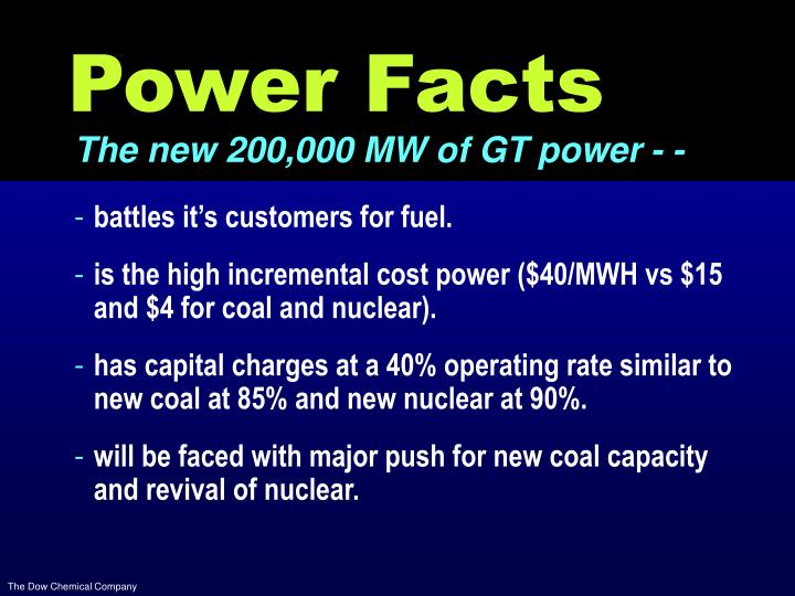 Power Facts